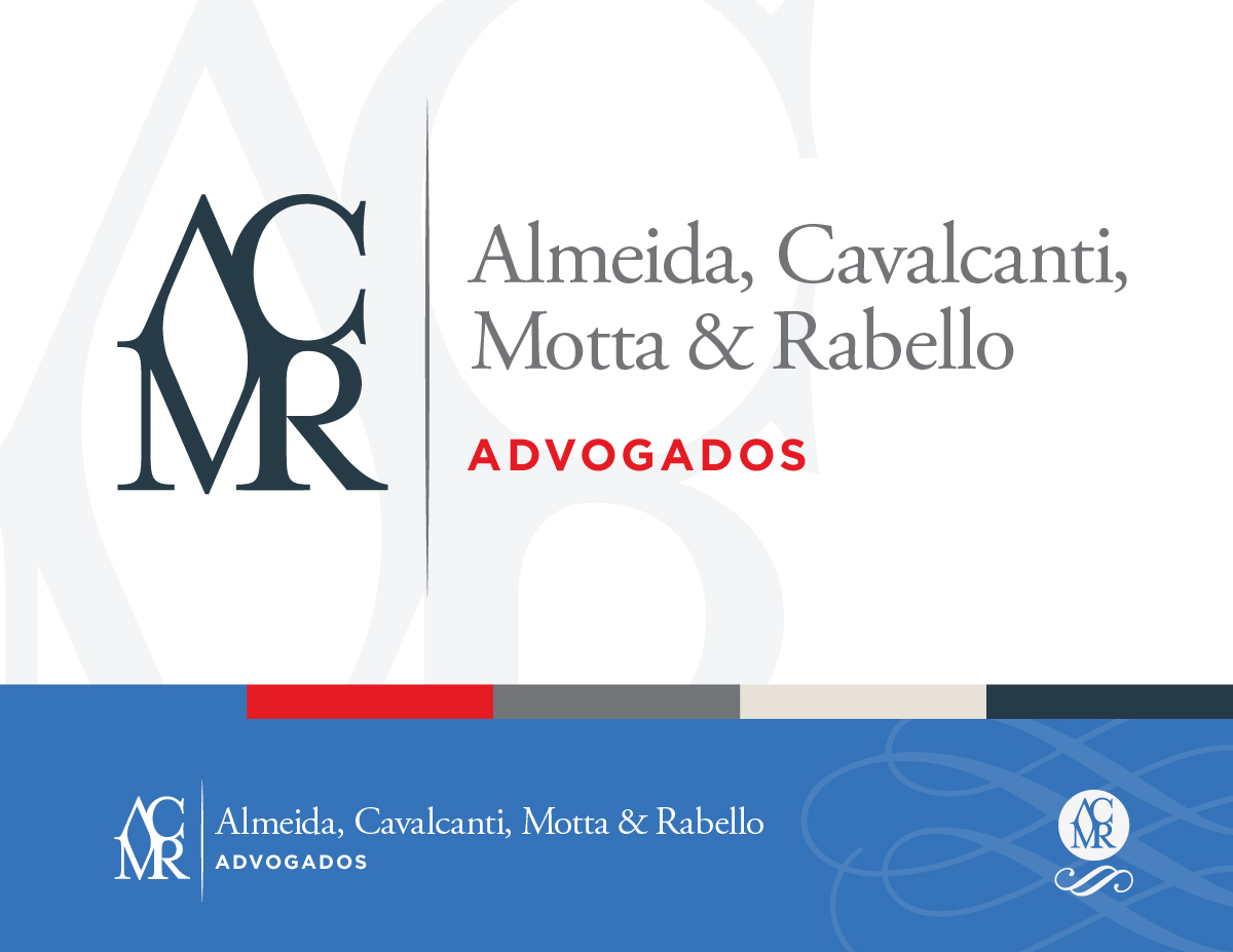 ACMR Advogado's brand identity design as created by Nathan Ripley