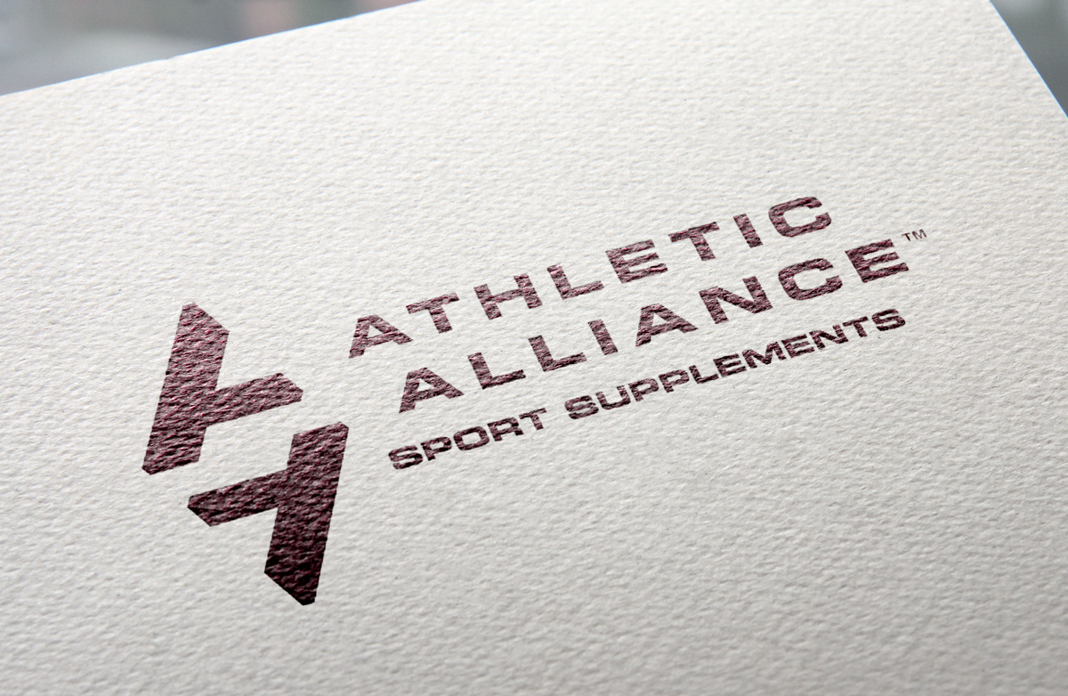 Athletic Alliance's logo, designed by Ripley Studios