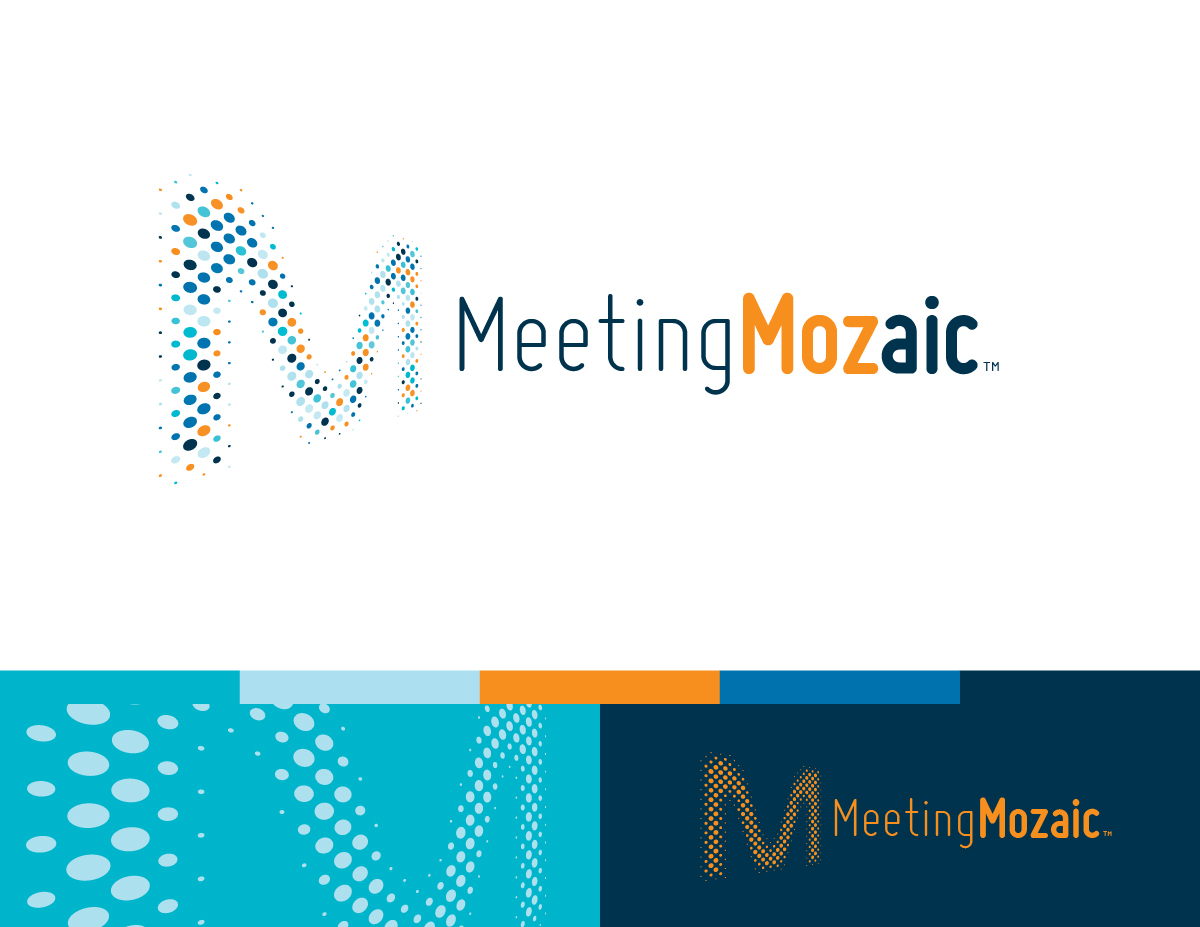 Meeting Mozaic's logo and identity system.