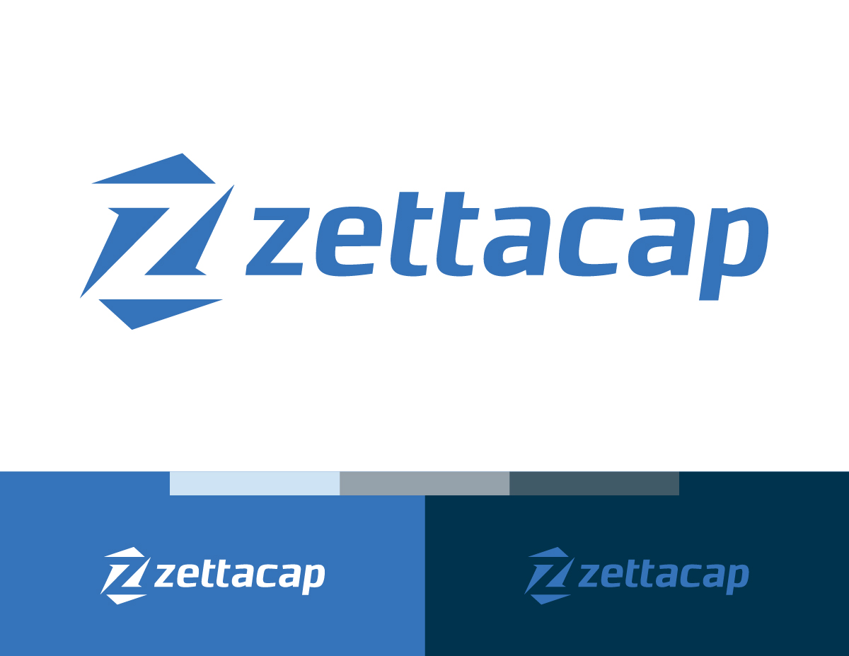 A full-color mockup of the Zettacap logo.