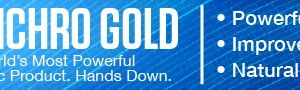 Synchro Gold's web banner design, size large.