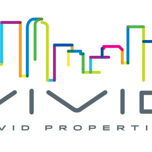 The Vivid Properties brand's official logo.