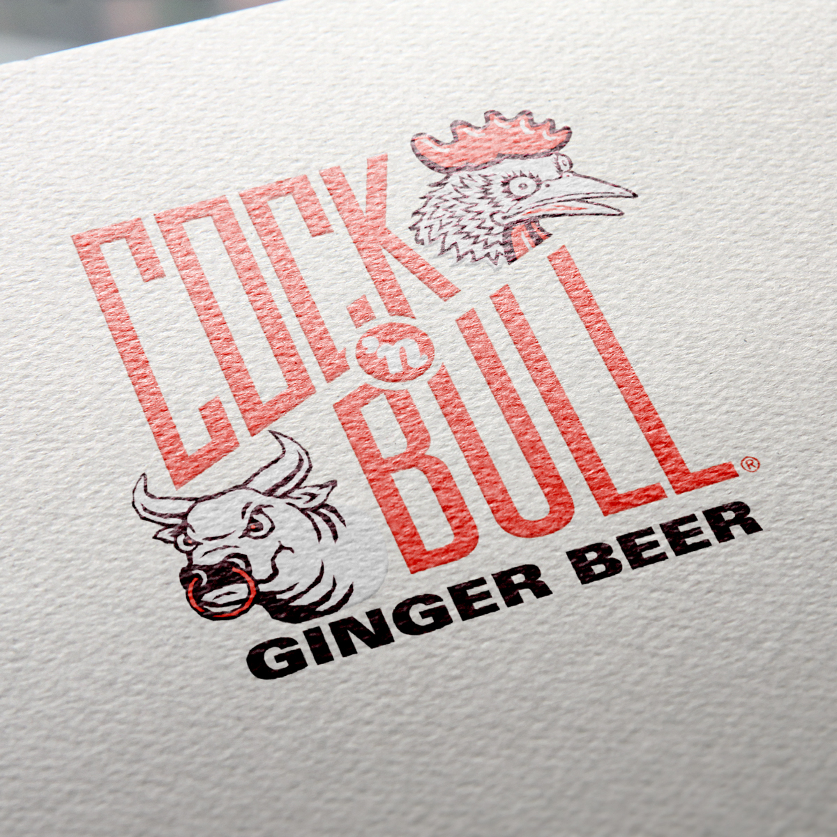 The new Cock 'n Bull logo design