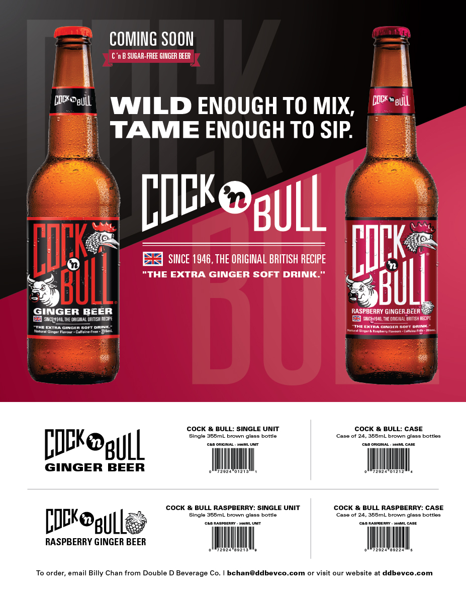 Cock 'n Bull's new sell sheet design