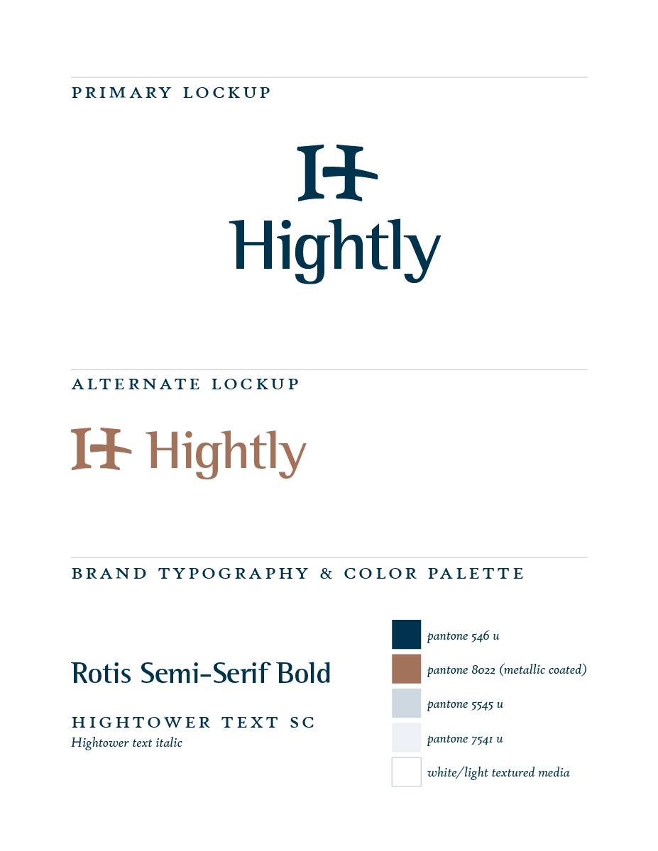 Hightly branding
