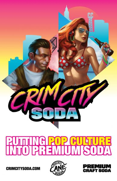 Crim City Soda poster