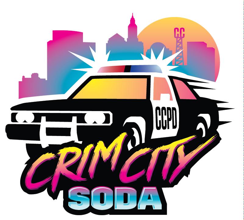 Crim City Police Car Logo Ripley Studios