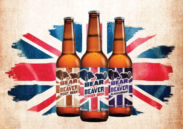 Bear 'n Beaver Sodas